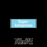 """Handdoek """"S"""" superkompressen badstof 6st _"""