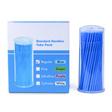 Micro applicators fine blue 100st
