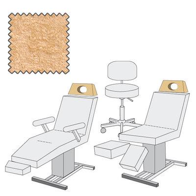 Kopsteunovertrek maxi met gezichtsuitsparing Medixwell