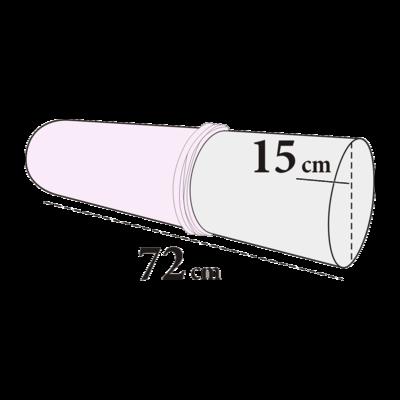 Knierolovertrek badstof rond maxi