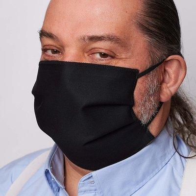 3-laags rechthoekig mondmasker 100% katoen 10st