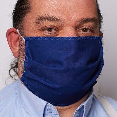 1-laags rechthoekig mondmasker 100% katoen 10st