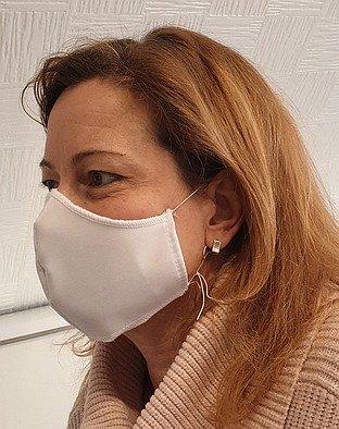 1-laags design mondmasker 100% katoen 10st
