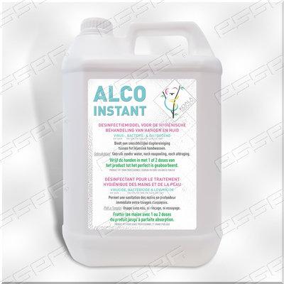 ALCO INSTANT  handdesinfectie 80% 5L