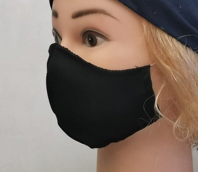 Katoen design mondmasker 1-laags 10st