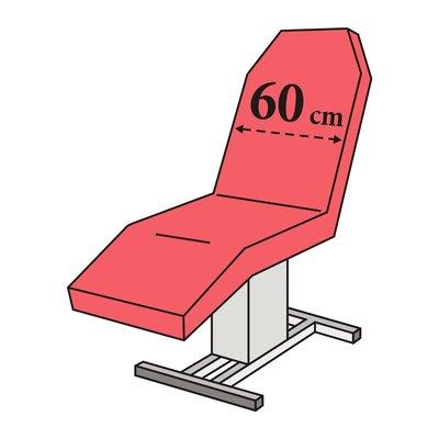 Zetelovertrek badstof klassieke behandelstoel