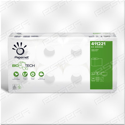 BioTech Toiletpapier met Enzymen 3lg 250v 8rl