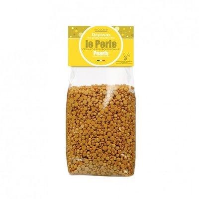 Yellow Hot Wax Pearls with Natural Beeswax 1Kg