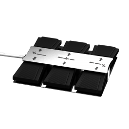 Voetbediening 3 motor  8 of 13 pins
