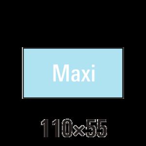 """Handdoek """"L"""" maxi badstof 2st"""