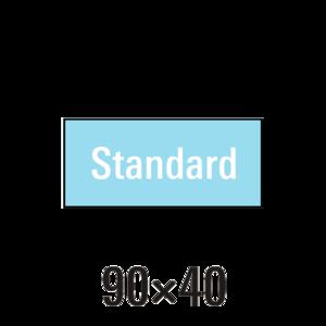 """Handdoek """"M"""" standaard badstof 3st"""
