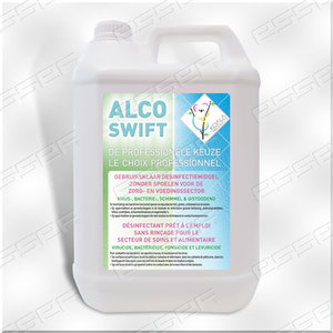 Alcoswift materiaalsdesinfectie 5L
