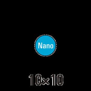 Handdoek nano badstof 5st