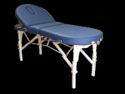 Massagetafel draagbaar Bestwood Ovaal deluxe blauw